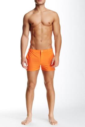 "Parke & Ronen 2\"" Angeleno Solid Stretch Swim Short $135 thestylecure.com"