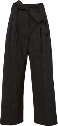 A.L.C. Delmar Pinstripe Pants $425 thestylecure.com