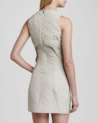 Theyskens' Theory Dasta Quilted Sleeveless Dress