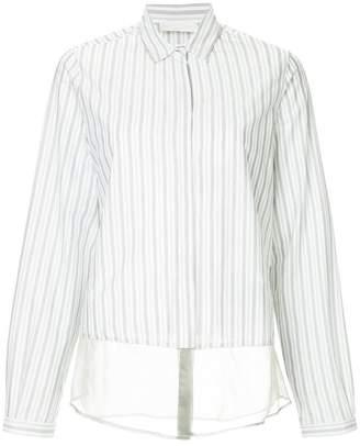 Fabiana Filippi layered pinstripe shirt