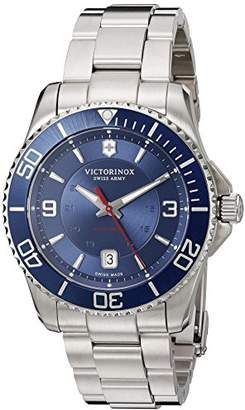 Victorinox Men's 'Maverick' Swiss Automatic Stainless Steel Casual Watch