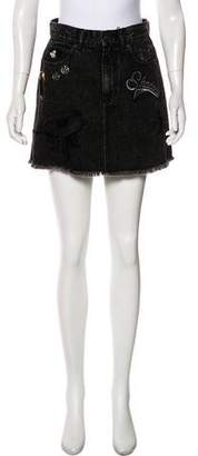 Marc Jacobs Patch-Accented Mini Skirt w/ Tags