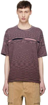 Missoni Pink Striped Effect T-Shirt