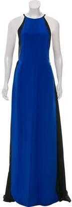 J. Mendel Accordion Maxi Dress