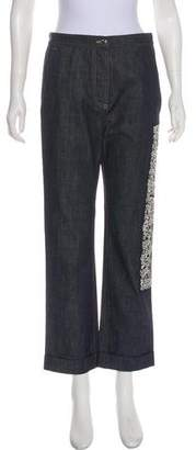 Christian Dior High-Rise Straight-Leg Jeans w/ Tags