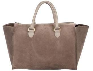 Clare Vivier Suede Handle Bag