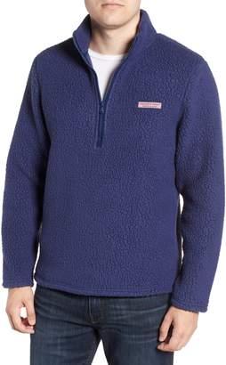 Vineyard Vines Fleece Quarter Zip Pullover
