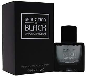 Antonio Banderas Seduction in Black Eau De Toilette Spray for Men