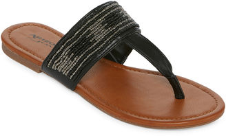 ARIZONA Arizona Hope Womens Flat Sandals $40 thestylecure.com