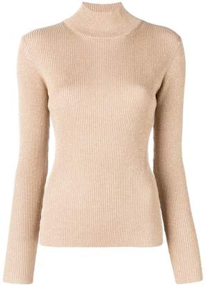 Diane von Furstenberg fitted basic jumper