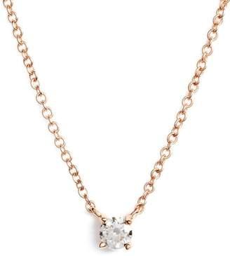 Bony Levy Petite Liora Diamond Solitaire Pendant Necklace