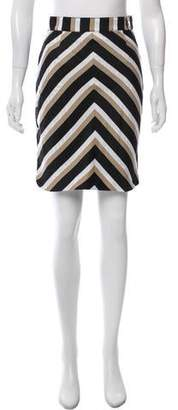 JC de CASTELBAJAC Patterned Knee-Length Skirt