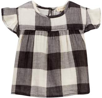 Tucker + Tate Woven Flutter Sleeve Top (Toddler, Little Girls, & Big Girls)