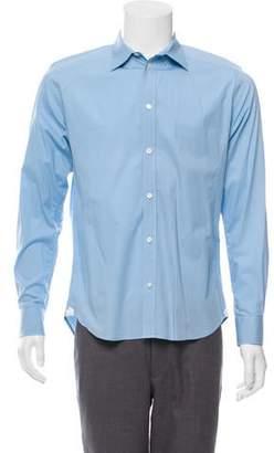 Paul & Joe Woven Button-Up Shirt