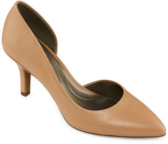 East Fifth east 5th Womens Devan Slip-on Closed Toe Stiletto Heel Pumps