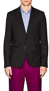 Paul Smith Men's Slim Wool Two-Button Sportcoat-Black