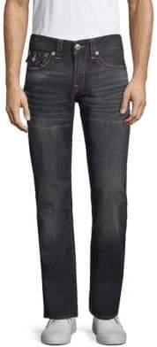 True Religion Straight Faded Jeans