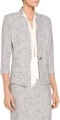 St. John Olivia Boucle Knit Jacket