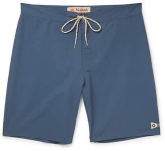 Mollusk Pennant Long-Length Cotton-Blend Swim Shorts
