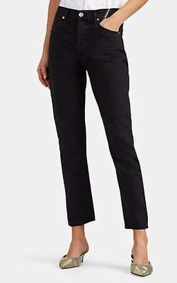 Atelier Jean Women's Ryan Straight Crop Jeans - Black