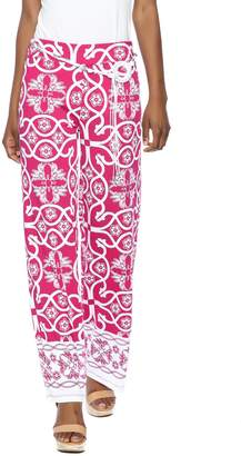Multiples Palazzo Print Pant
