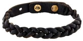 Isabel Marant Braided Leather Bracelet
