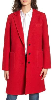 J.Crew J. Crew Olga Boiled Wool Topcoat (Regular & Petite)