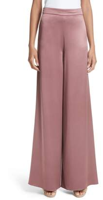 Cushnie et Ochs Nelle Side Slit Silk Pants