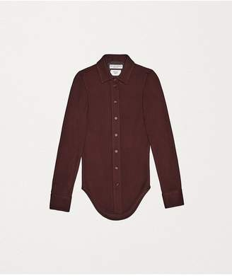 Bottega Veneta Shirt In Sable Jersey