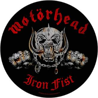 Iron Fist Motorhead Back Patch band logo Official New Circular (28cm)