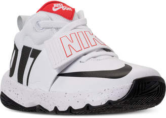 Nike Boys' Team Hustle D8 Just Do It Basketball Sneakers from Finish Line
