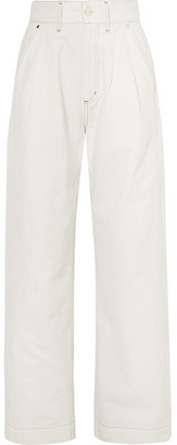 Gold Sign The Trouser High-rise Wide-leg Jeans