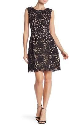 Vince Camuto Sleeveless Lace Dress