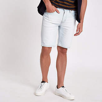 Levi's light blue 511 slim fit denim shorts