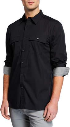 Kenneth Cole New York Men's Dynamic Long-Sleeve Sport Shirt