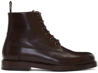 A.P.C. Brown Vladimir Boots
