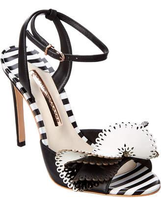 Sophia Webster Soleil 100 Laser-Cut Leather Sandal