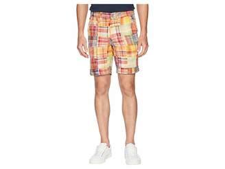 Vintage 1946 Acid Washed Patch Madras Shorts Men's Shorts