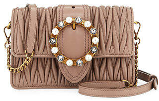 Miu Miu Lady Mini Matelassé Crossbody Bag