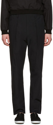 Lemaire Black Boxer Trousers $520 thestylecure.com