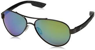 Costa del Mar Loreto Sunglasses /Green Mirror 580Glass
