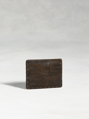 Fold-Over Leather Card Case $128 thestylecure.com