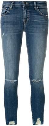 J Brand stonewashed skinny jeans