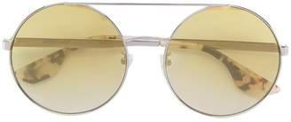 McQ Eyewear double bridged circle sunglasses