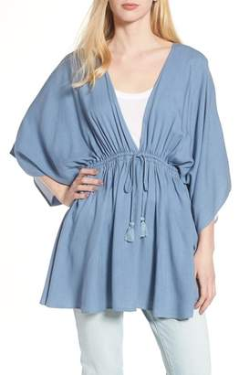 Treasure & Bond Chambray Poncho