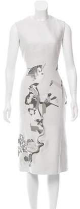 Thom Browne Geisha Moon Silk Dress $845 thestylecure.com