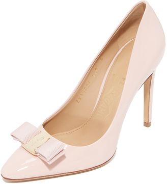 Salvatore Ferragamo Emy Pumps $625 thestylecure.com