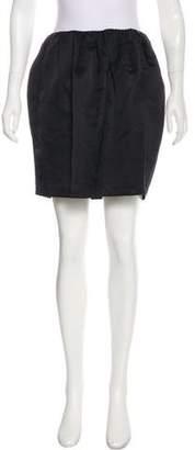 Miu Miu Ruched Mini Skirt
