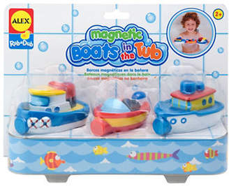 Alex Magnetic Boats in the Tub