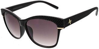 ADRIENNE VITTADINI Adrienne Vittadini Full Frame Cat Eye Sunglasses $42 thestylecure.com